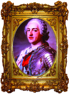 Louis XV.Roi de France 1745